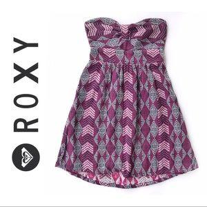 Roxy • Bustin' Out Strapless Dress
